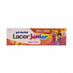 Lacer Gel Junior Fresa 75 ml