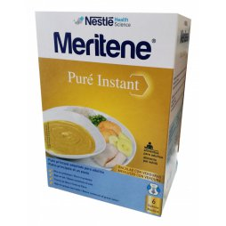 Meritene Puré Bacalao con Verduras (6x71gr)