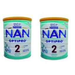 Nestle Nan 2 Optipro Pack 2X800gr