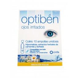 Optiben Ojos Irritados Unidosis 10 Ampollas