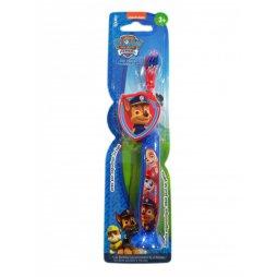 Cepillo Dental Paw Patrol con Capucha 3+