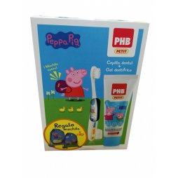 Phb Petit Peppa Gel 75ml + Cepillo + Regalo