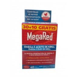 Megared Omega3 Aceite De Krill 40 Capsulas