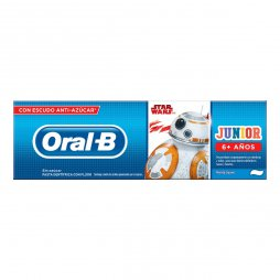 Oral-B Pasta Stages Cars 75 ml (Fruta)