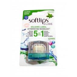 Softlips Cube SPF15 Menta Fresca Bálsamo Labial