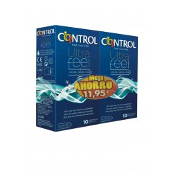 Control Ultra Feel 10+10 Pack Mega Ahorro