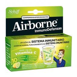 Airborne Inmuno Limón 10 Comprimidos Efervescentes