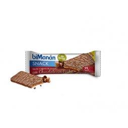 Bimanan Snack Choco/Leche Sin Gluten 20uds