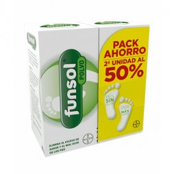 Funsol Duplo Polvo 2X60gr  2ª Ud 50%