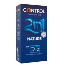 Control Nature + Gel 2 In 1 6uds