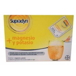 Supradyn Magnesio - Potasio Naranja 14sSobres