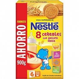 Nestle 8 Cereales Con Galleta Maria 900gr