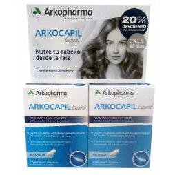 Arkocapil Expert Pack 2X60uds 2ªud 20%