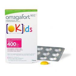 Om3Gafort OKids 30 Gominolas Limon+Guia