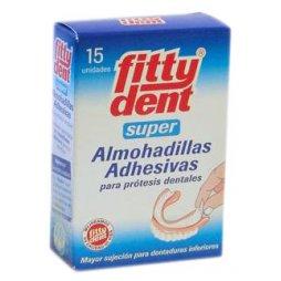 Fittydent Almohadillas Adhesivas 15uds