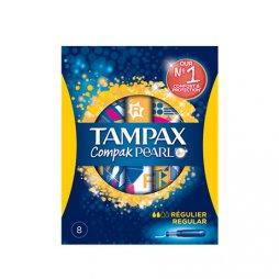 Tampax Compak Pearl Regular 18uds