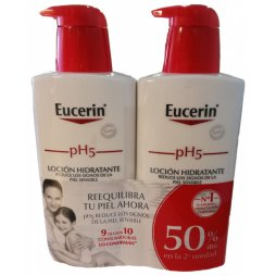 Eucerin Pack  Loción Hidratante 2X400ml