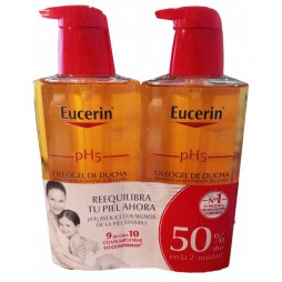Eucerin Pack Oleogel 2 X 400ml