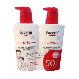 Eucerin Pack Loción  Enriquecida 2x400ml