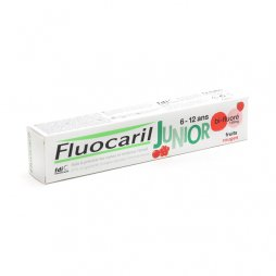 Fluocaril Junior Gel Frutos Rojos 75 ml
