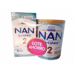 Nestle Nan 2 Optipro  Pack 800gr+350gr
