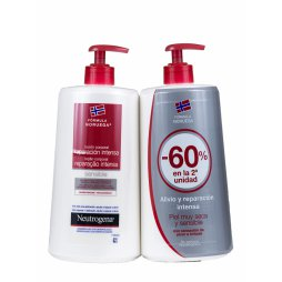 Neutrogena Duplo Locion Piel Sensible 750+750ml
