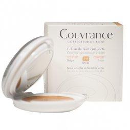 Avene Couvrance Crema Compacta Confort Beige