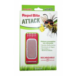 Repel Bite Attack Pulsera Citronela