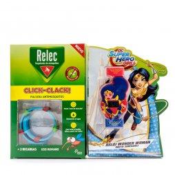 Relec Pulsera Antimosquitos Wonder Woman