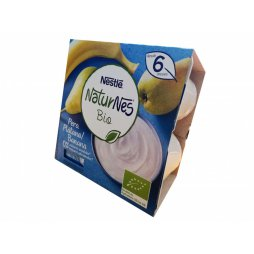 Nestle Naturnes Bio Pera/Platano (4X90gr)