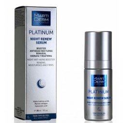 Martiderm Platinum Night Renew Serum