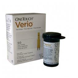 Tiras Reac Onetouch Verio 50 Lifescan