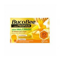 Bucobee Propolis Miel/Limon 10 Pastillas