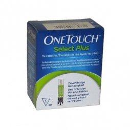 Tiras Reactivas Onetouch Select Plus 50