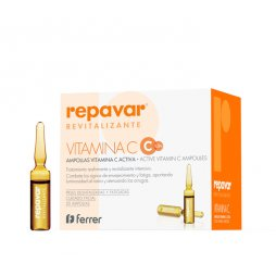 Repavar Revitalizante 20 Amp Vitamina C+3 Amp Lift&Mat