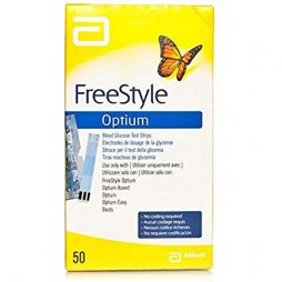 Tiras Glucosa Freestyle Optium 50