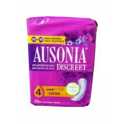 Ausonia Discreet 4 Extra 20uds