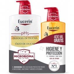 Eucerin Pack Oleogel 2X1000ml 60% 2ªud