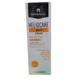 Heliocare 360º Color Beige Gel Oil-Free + EndocareC