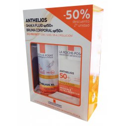 Anthelios Pack Fluido 200ml+Shaka Fluid 50ml
