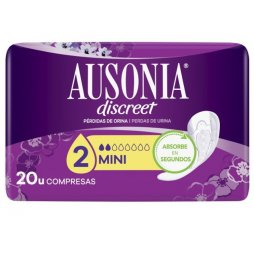 Ausonia Discreet Mini 20uds