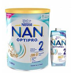 Nestle Nan 2 Optipro 800gr + Nan 2 Opt Liq. 500ml