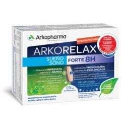 Arkorelax Sueño Forte 8H Cronoliberación 30 Comp