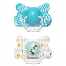 Suavinex Chupete Fusion Tetina Fisiológica 4-18M Silicona 2uds