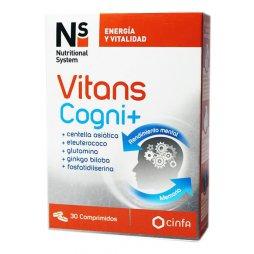 NS Vitans Cogni+ 30 Comprimidos