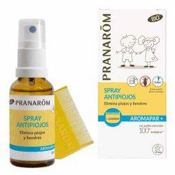 Pranarom Spray Antipiojos + Lendrera 30ml