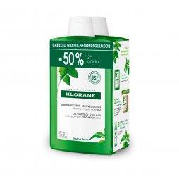 Klorane Champú Ortiga 400ml 2º 50%