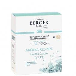 Berger Recambio de Coche Aroma Respire 2ud