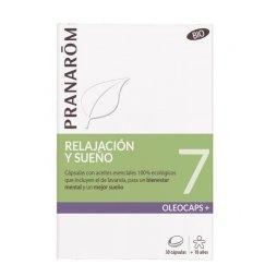 Pranarom Oleocaps Sueño  y estrés 30 caps (6497)