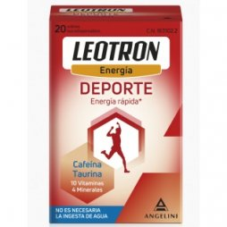 Leotron Energia Deporte 20 Sobres Bucodispensables